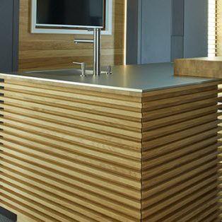 Natural stone countertop / kitchen LUX:VENEZIA  lapitec