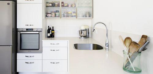 Natural stone countertop / kitchen lapitec