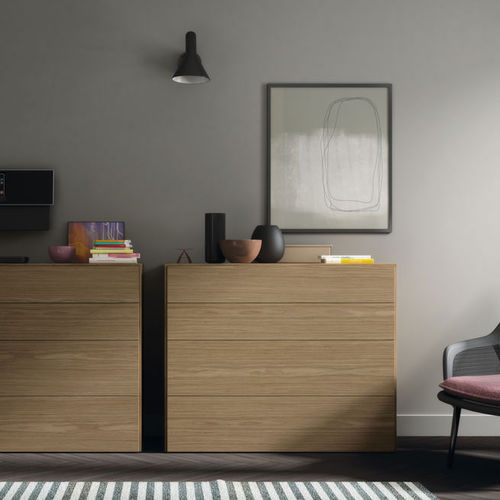 Contemporary chest of drawers / wooden / MDF / modular S4  VIVE - MUEBLES VERGE S.L.