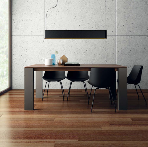 Dining table / contemporary / wooden / ceramic T05  VIVE - MUEBLES VERGE S.L.