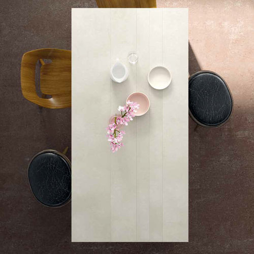 Dining table / contemporary / wooden / ceramic M03 VIVE - MUEBLES VERGE S.L.