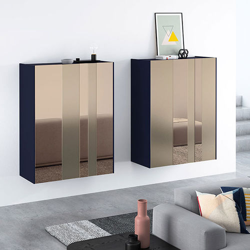 Wall-mounted sideboard / contemporary / glass FRENTES : A11 VIVE - MUEBLES VERGE S.L.