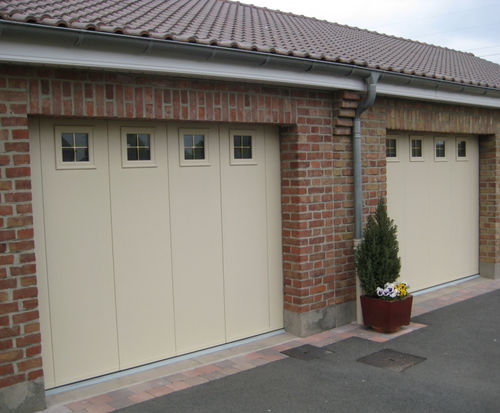 Sliding garage doors / steel / automatic SMF Services