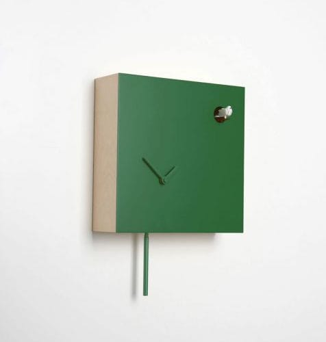 Contemporary Clocks / Analog / Wall Mounted / Painted Wood. ICONA 225 By  Giovanni Levanti DIAMANTINI U0026 DOMENICONI