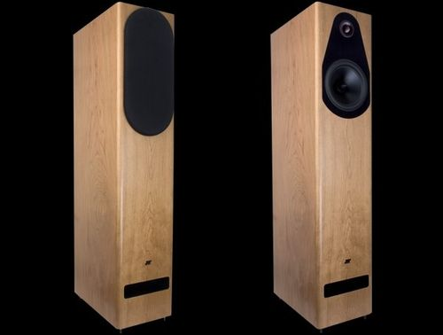 Tower speaker / wooden EUTERPE Jean marie reynaud