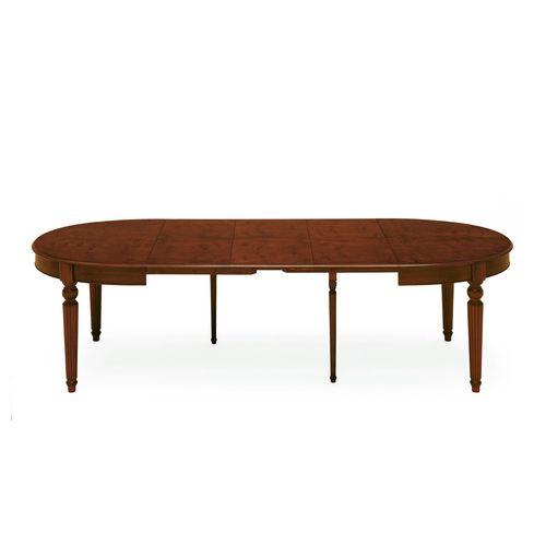 Victorian table / walnut / beech / round