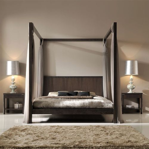 canopy bed - ArtesMoble