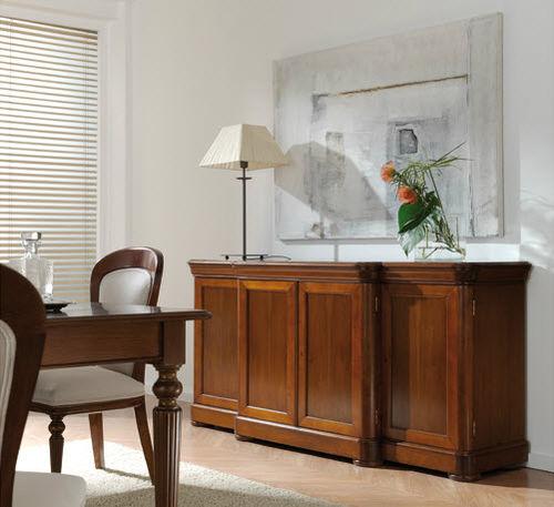Victorian sideboard / walnut / beech