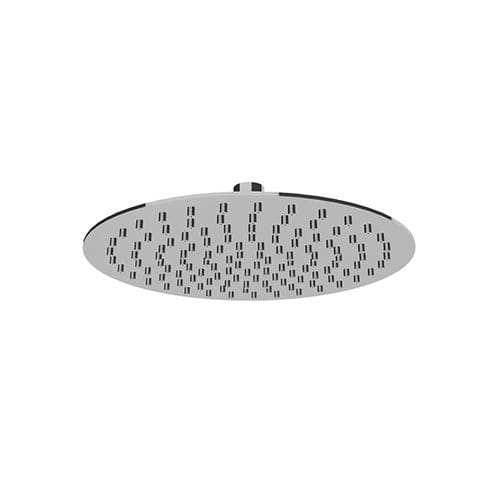 wall-mounted shower head / ceiling-mounted / round / rain