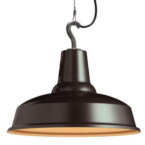 pendant lamp / industrial style / aluminum / handmade