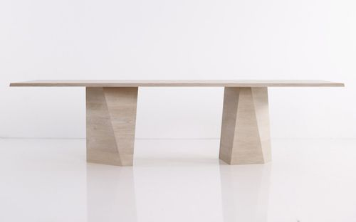 contemporary conference table / wooden / rectangular / extending