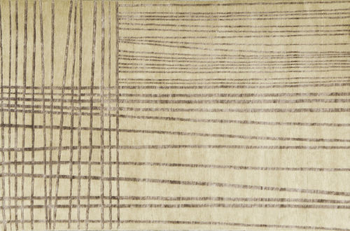 Contemporary rug / hemp / wool / striped MYM by Francesc Rifé Now Carpets