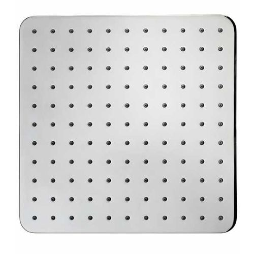wall-mounted shower head / ceiling-mounted / square