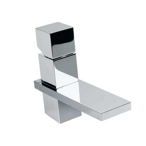 washbasin mixer tap / chromed metal / Swarovski® crystal / bathroom