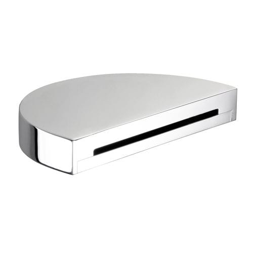chrome-plated brass bathtub spout