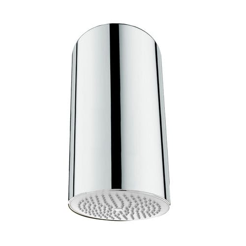 ceiling-mounted shower head / round / rain