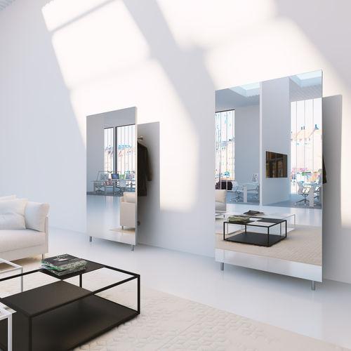Wall-mounted wardrobe / contemporary / glass / steel CHAT BOARD® WARDROBE CHAT BOARD®