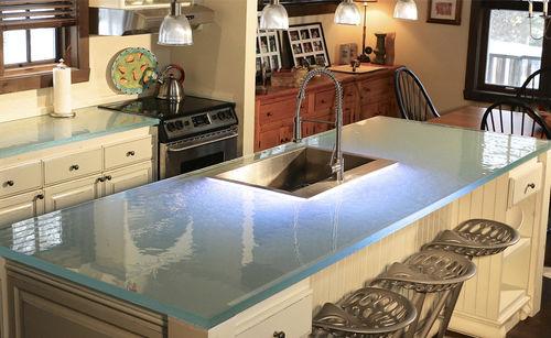 Glass countertop / kitchen ThinkGlass