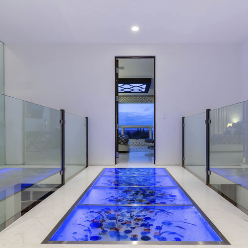 Glass flooring / commercial / residential / tile ThinkGlass