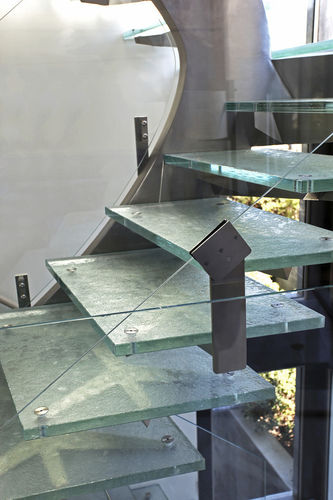 Glass step GLASS STAIRS BY DEBONO BROTHERS ThinkGlass