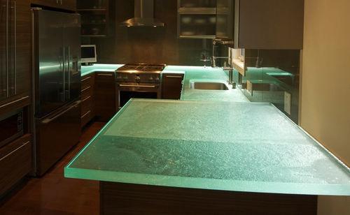 Glass countertop / kitchen GREAT KITCHEN II ThinkGlass