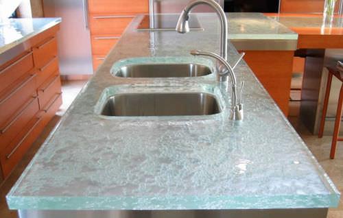 Glass countertop / kitchen ULTIMATE  ThinkGlass