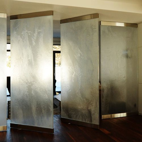 interior fitting glass panel - ThinkGlass