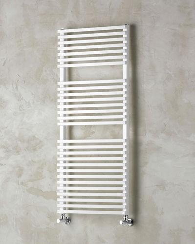 hot water towel radiator / metal / contemporary / wall-mounted
