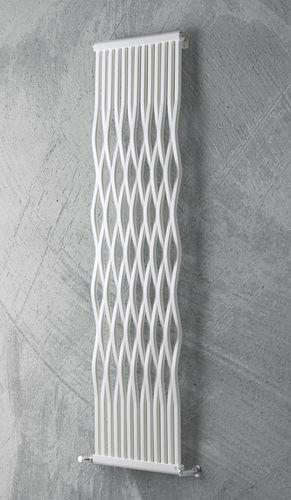 hot water radiator / metal / contemporary / vertical