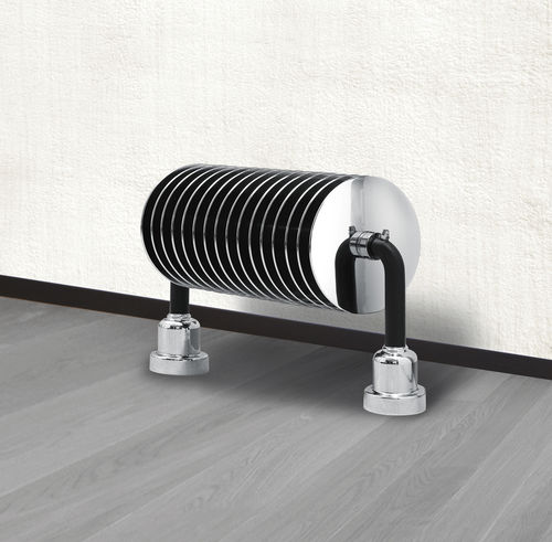 hot water radiator / metal / chrome / original design
