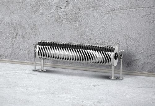 hot water radiator / metal / chrome / original design