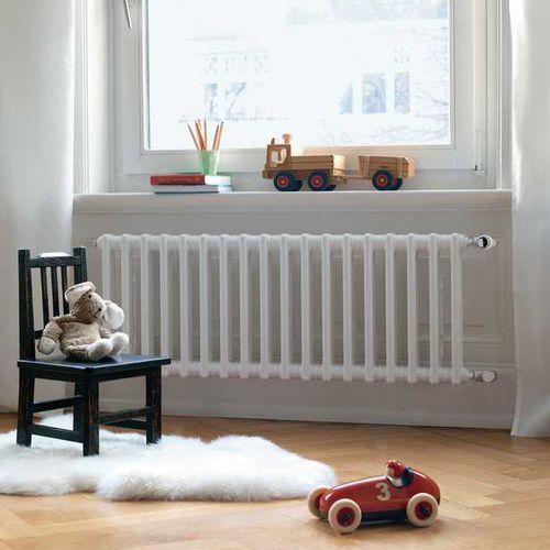low-temperature radiator / metal / contemporary / curved