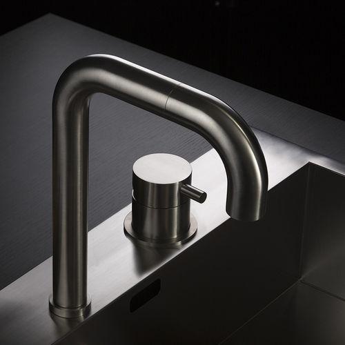stainless steel mixer tap - MINA Rubinetterie