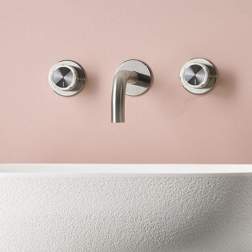 double-handle washbasin mixer tap - MINA Rubinetterie