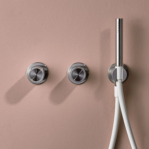double-handle bathtub mixer tap - MINA Rubinetterie