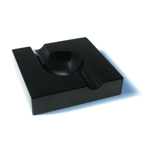 obsidian ashtray / for domestic use