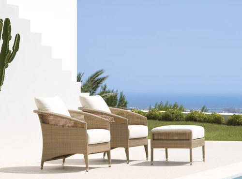 contemporary pouf / fiberglass / outdoor / for hotels
