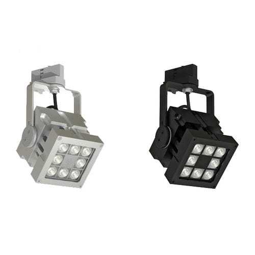 LED track light / square / aluminum / commercial REVO TRACK MAINS DIMMABLE CLS LED