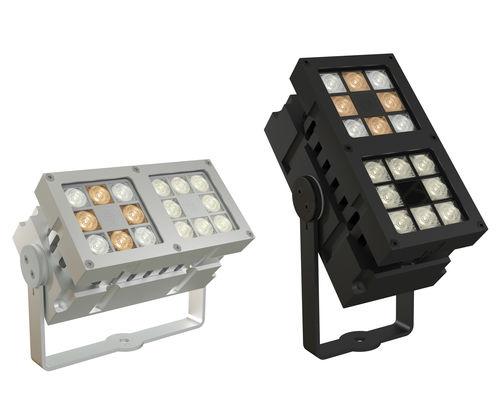 surface mounted light fixture / LED / rectangular / outdoor