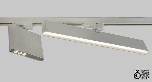 LED track lights / rectangular / extruded aluminum / commercial VIMA by Serge Cornelissen HALLA