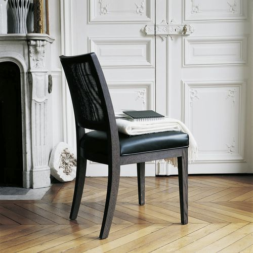 contemporary chair / fabric / leather / by Antonio Citterio