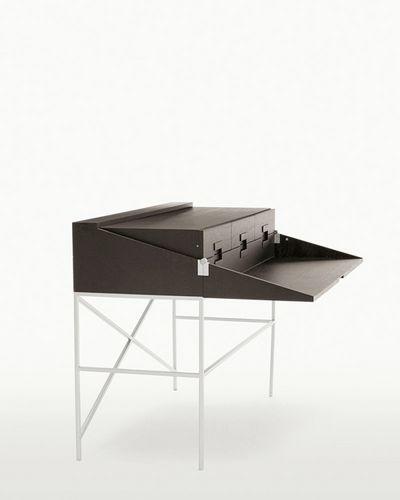 oak desk / contemporary / with storage / by Antonio Citterio