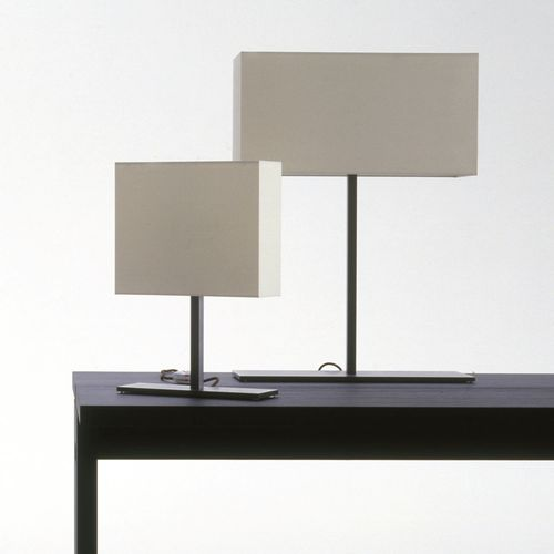 table lamp / contemporary / fabric / parchment