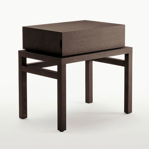 contemporary bedside table / wooden / rectangular / by Antonio Citterio