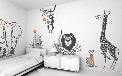 animals wall sticker / child's