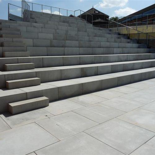 concrete paving slab / pedestrian / for public spaces