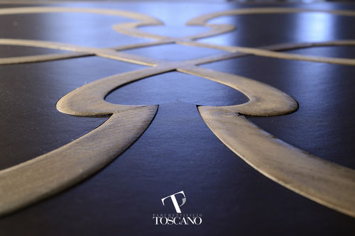 Solid parquet flooring / glued / oiled CALANDRINO Parchettificio Toscano Srl