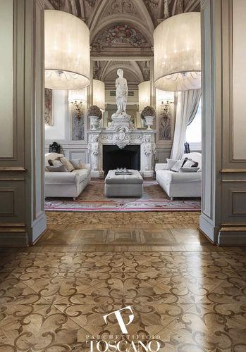 Solid parquet flooring / glued / oak / oiled LUSITANIA VCF Parchettificio Toscano Srl