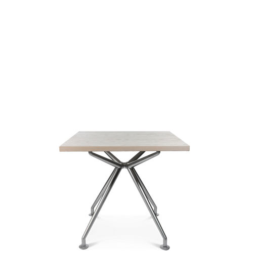 Contemporary work table / laminate / wooden / aluminum W-TABLE KLEIN Wagner - Eine Marke der Topstar GmbH