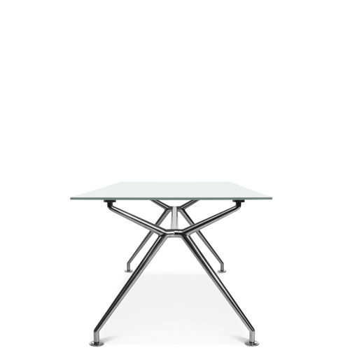Contemporary work table / laminate / wooden / aluminum W-TABLE Wagner - Eine Marke der Topstar GmbH